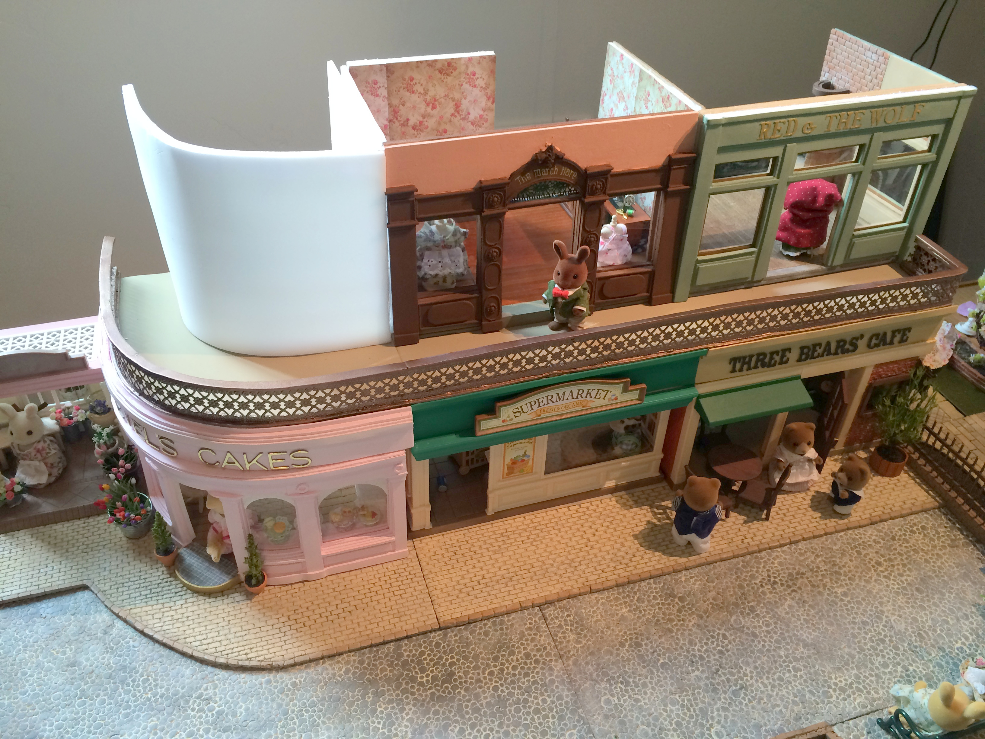 Stacking Stores Mimis Little Sylvanian Town